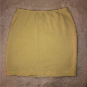 American Apparel Ponte Mini Skirt Size Small